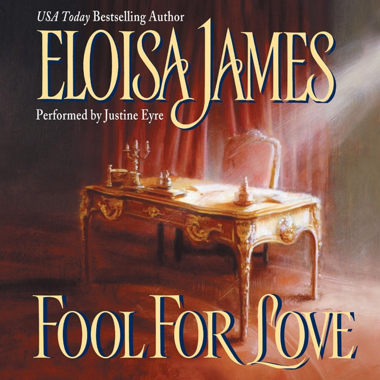 Printable Fool for Love Audiobook Cover Art