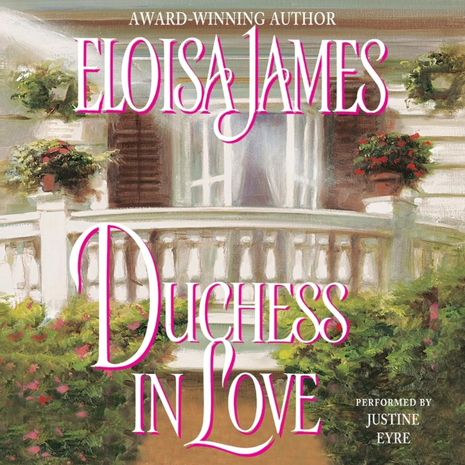 Printable Duchess in Love Audiobook Cover Art