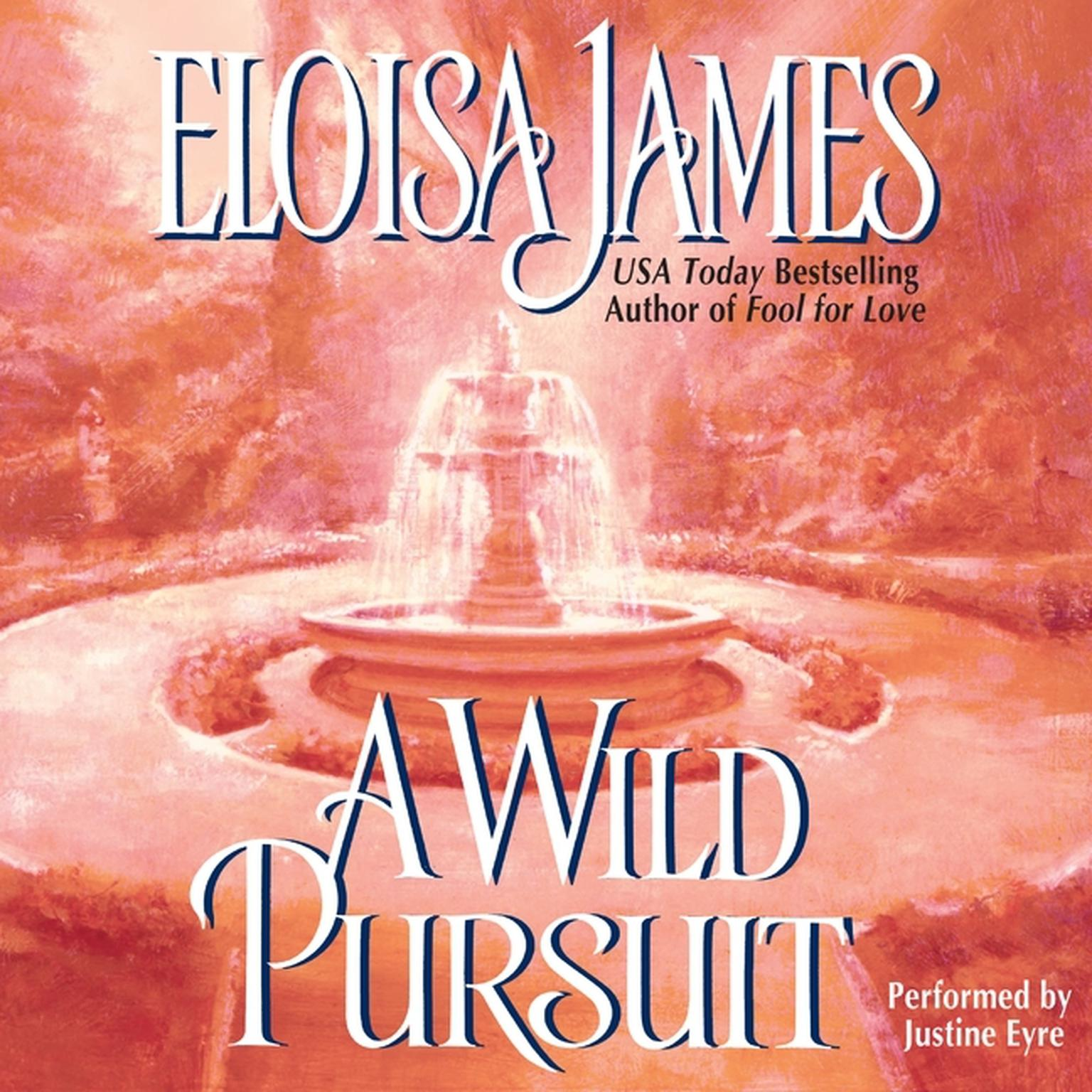 Printable A Wild Pursuit Audiobook Cover Art