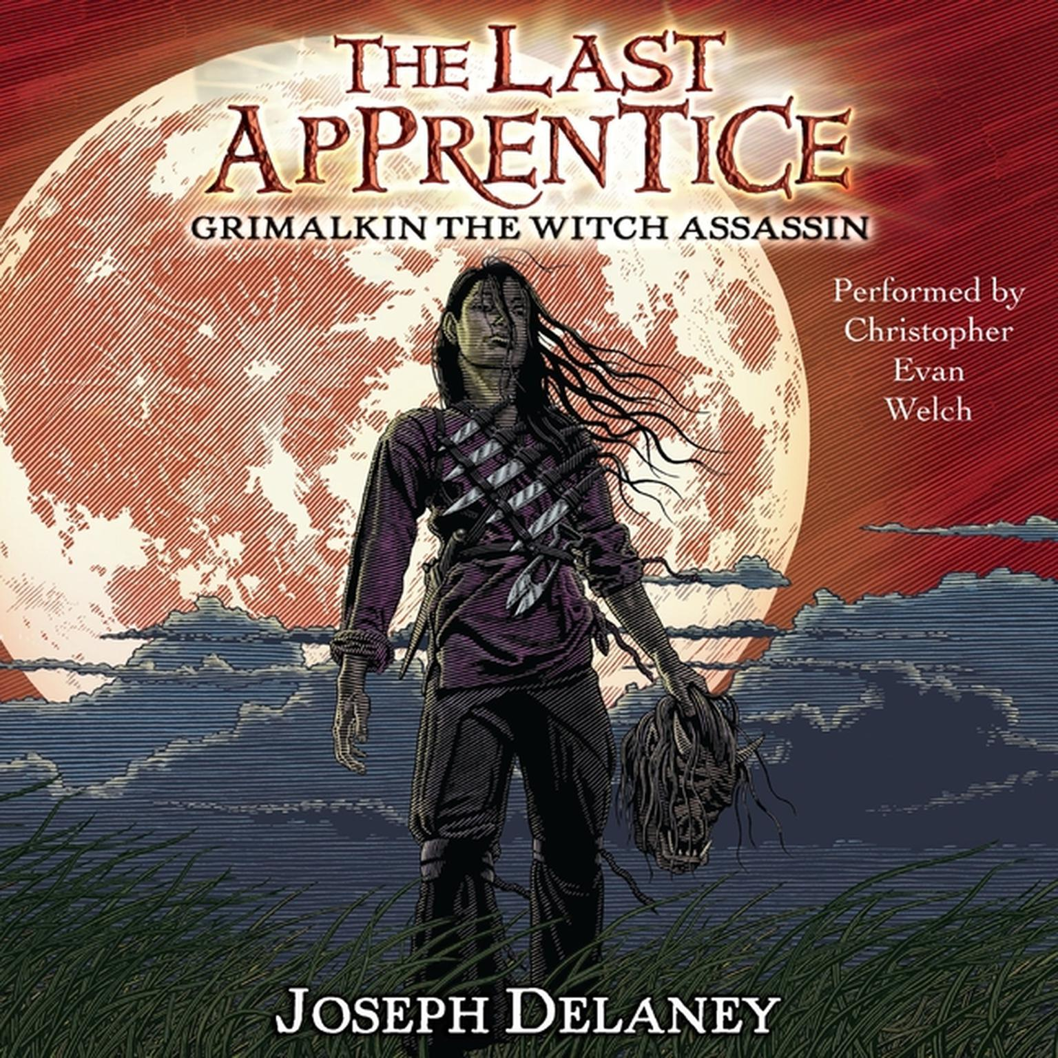 Printable The Last Apprentice: Grimalkin the Witch Assassin (Book 9) Audiobook Cover Art