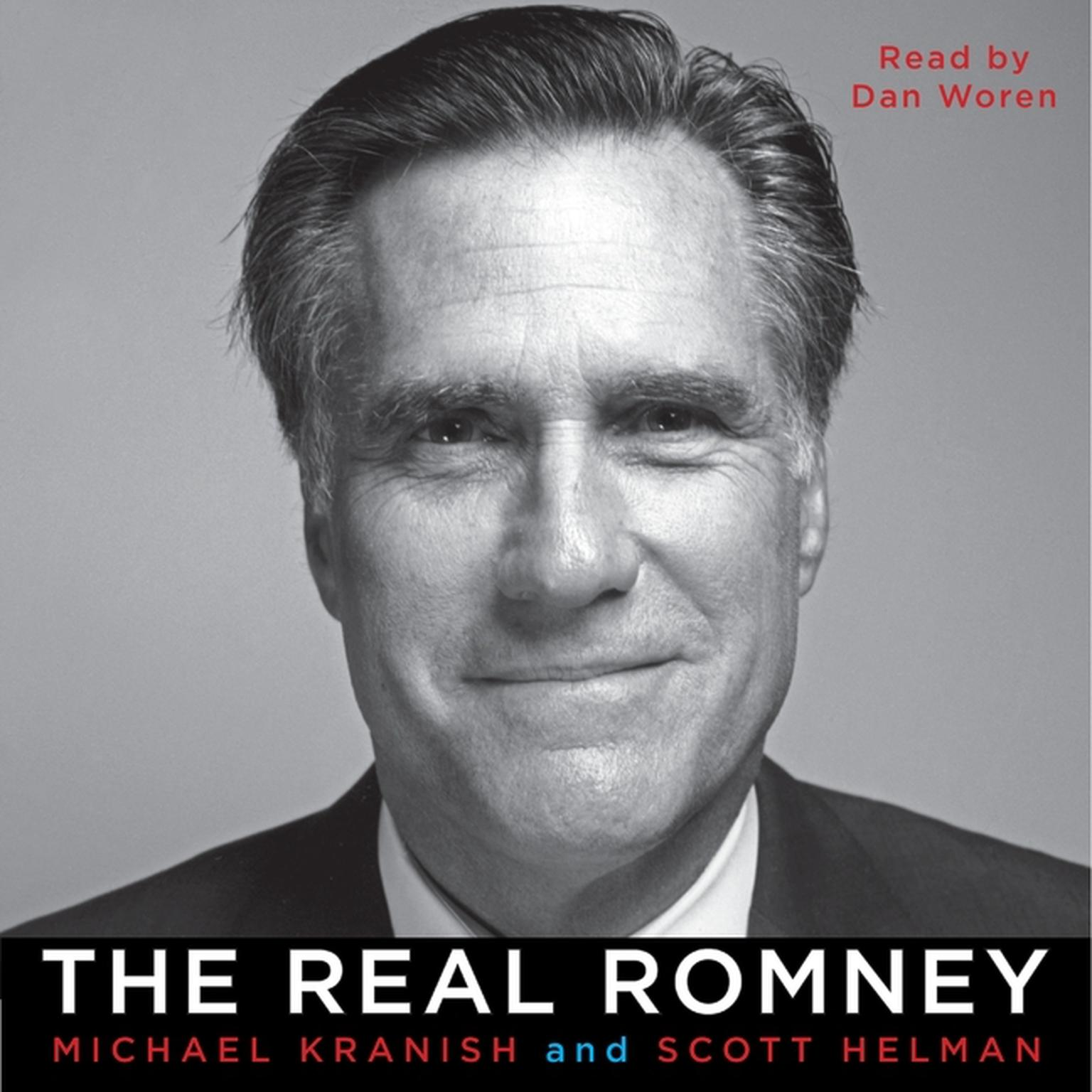 Printable The Real Romney Audiobook Cover Art
