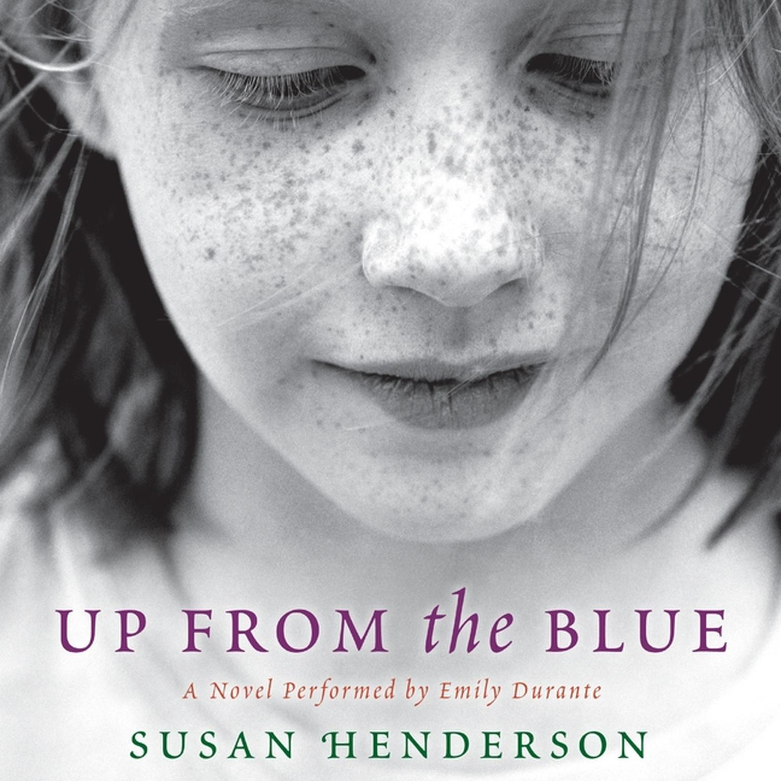 Printable Up from the Blue: A Novel Audiobook Cover Art