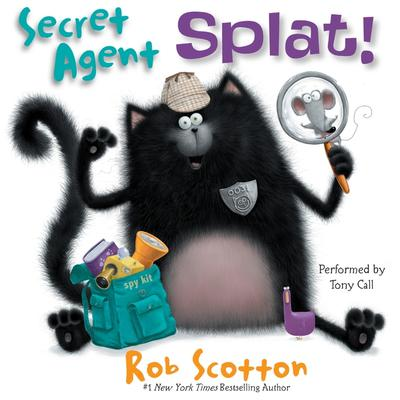 Secret Agent Splat! Audiobook, by Rob Scotton