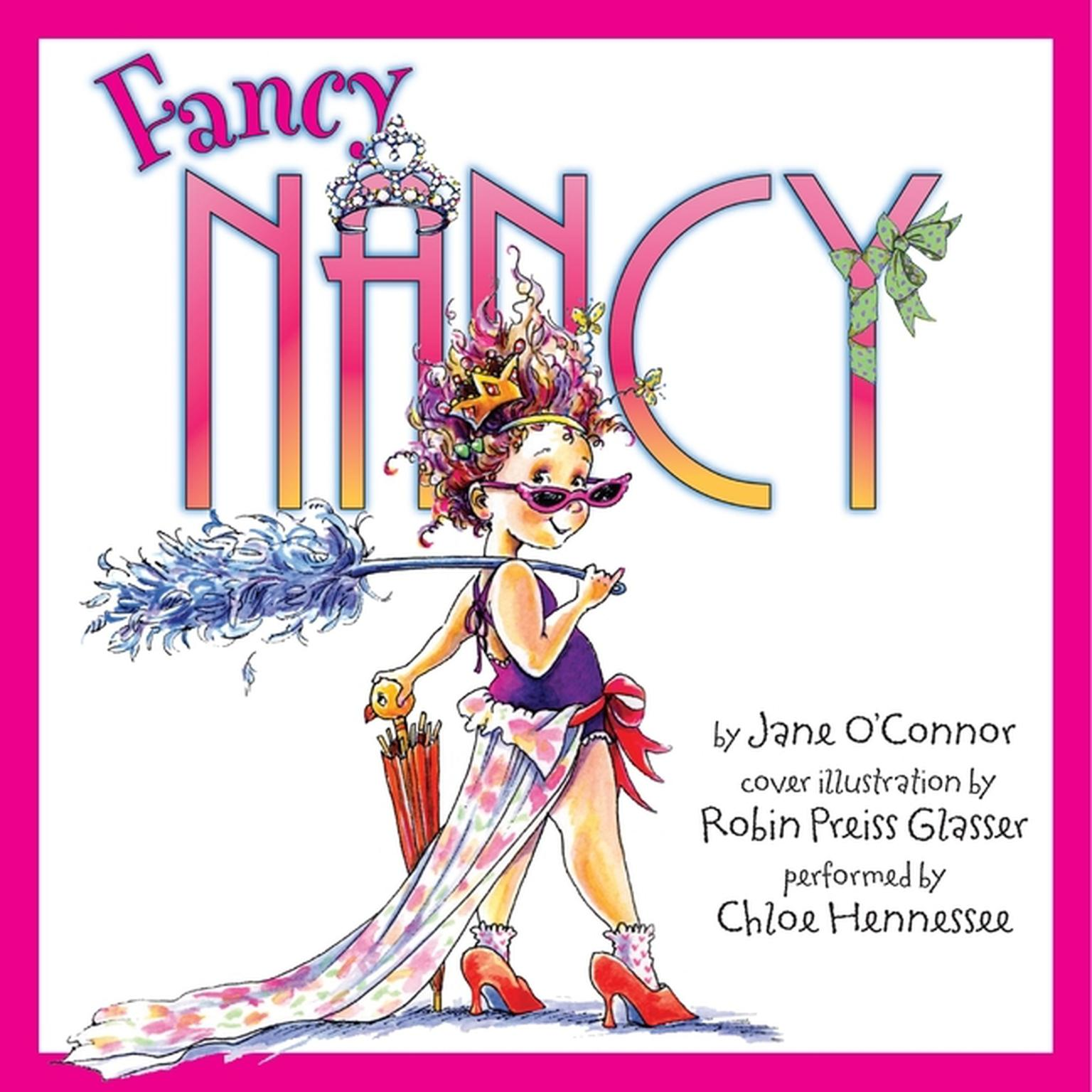 Printable Fancy Nancy Audiobook Cover Art