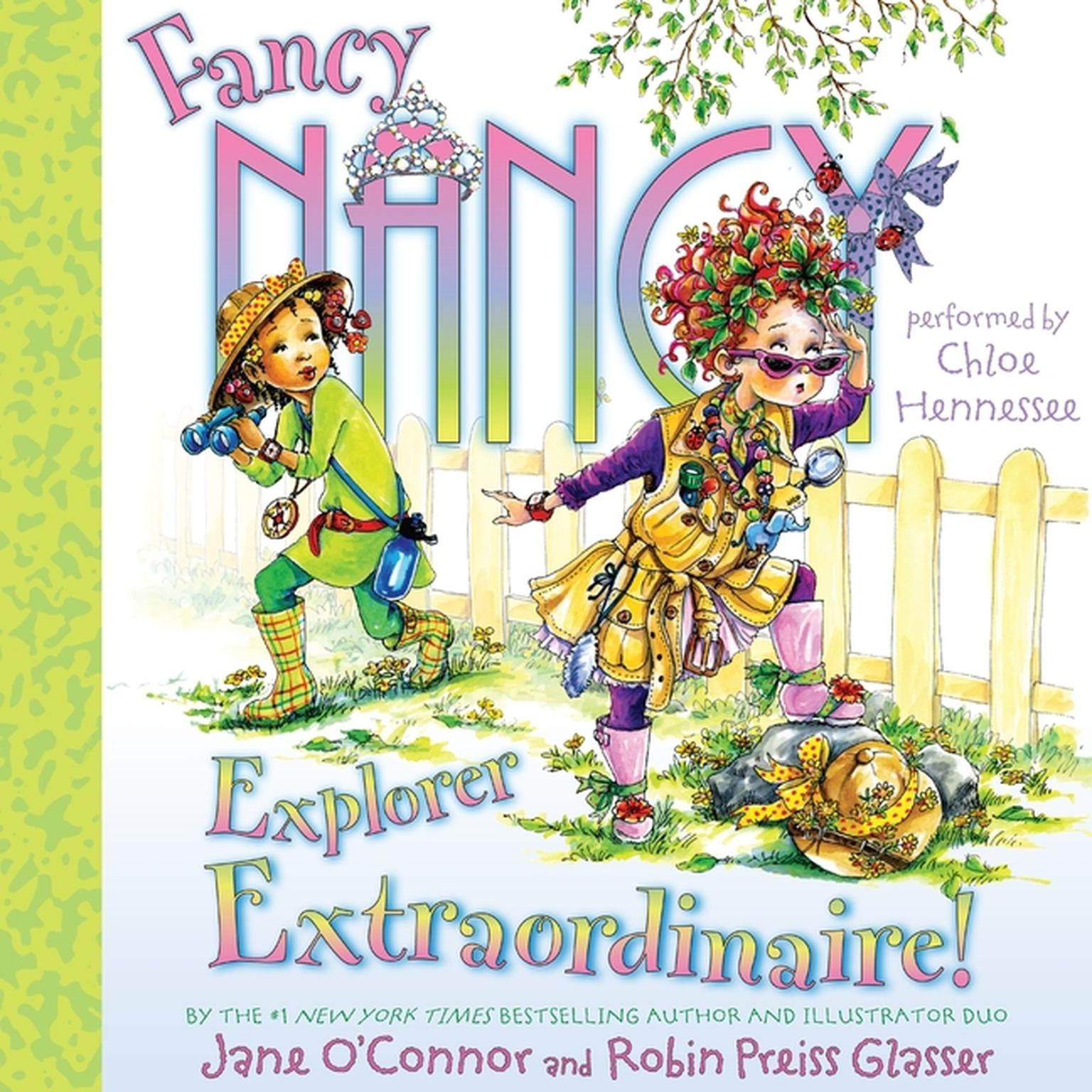 Printable Fancy Nancy: Explorer Extraordinaire! Audiobook Cover Art