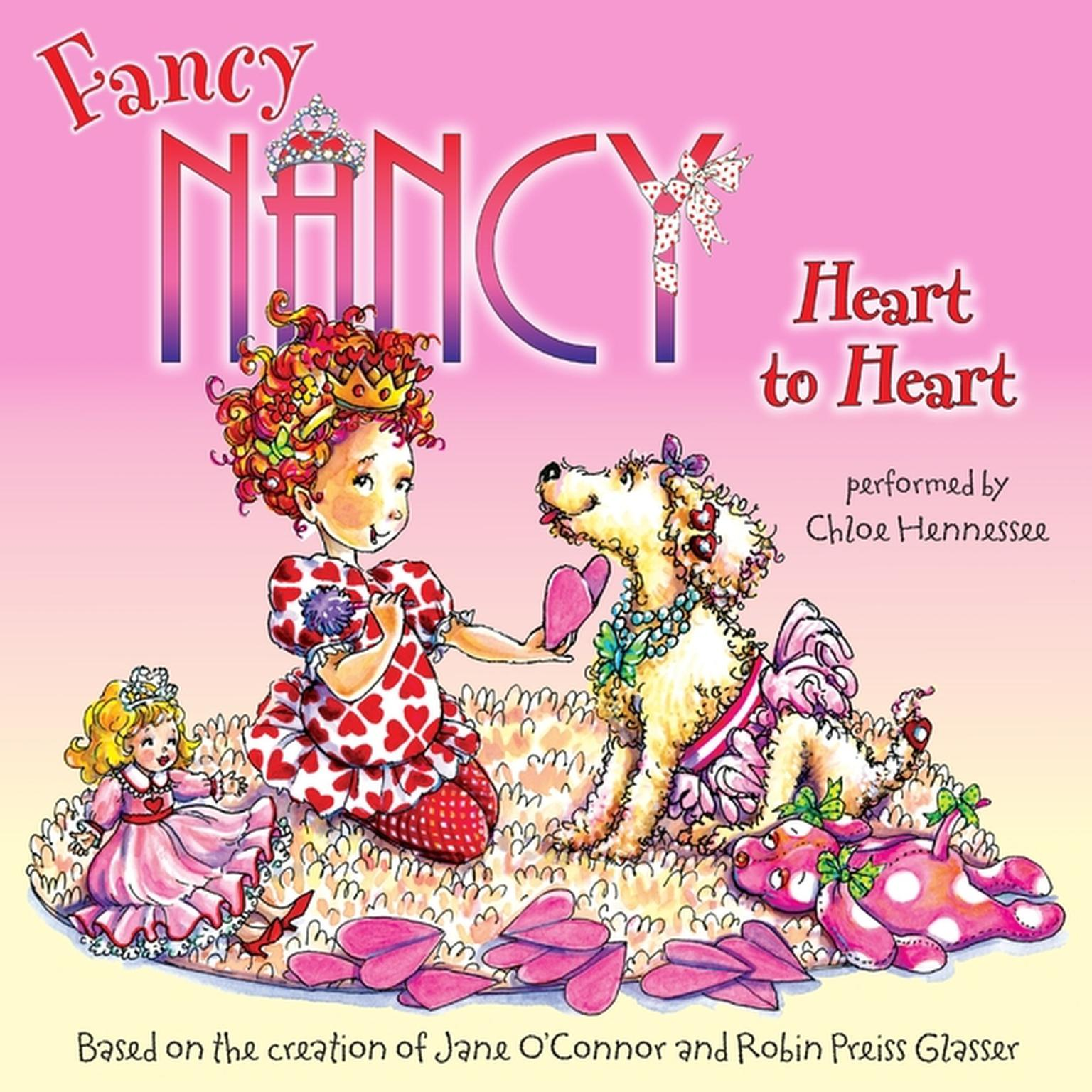 Printable Fancy Nancy: Heart to Heart Audiobook Cover Art