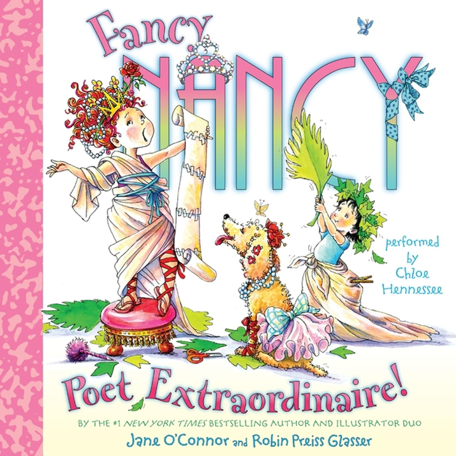 Printable Fancy Nancy: Poet Extraordinaire! Audiobook Cover Art