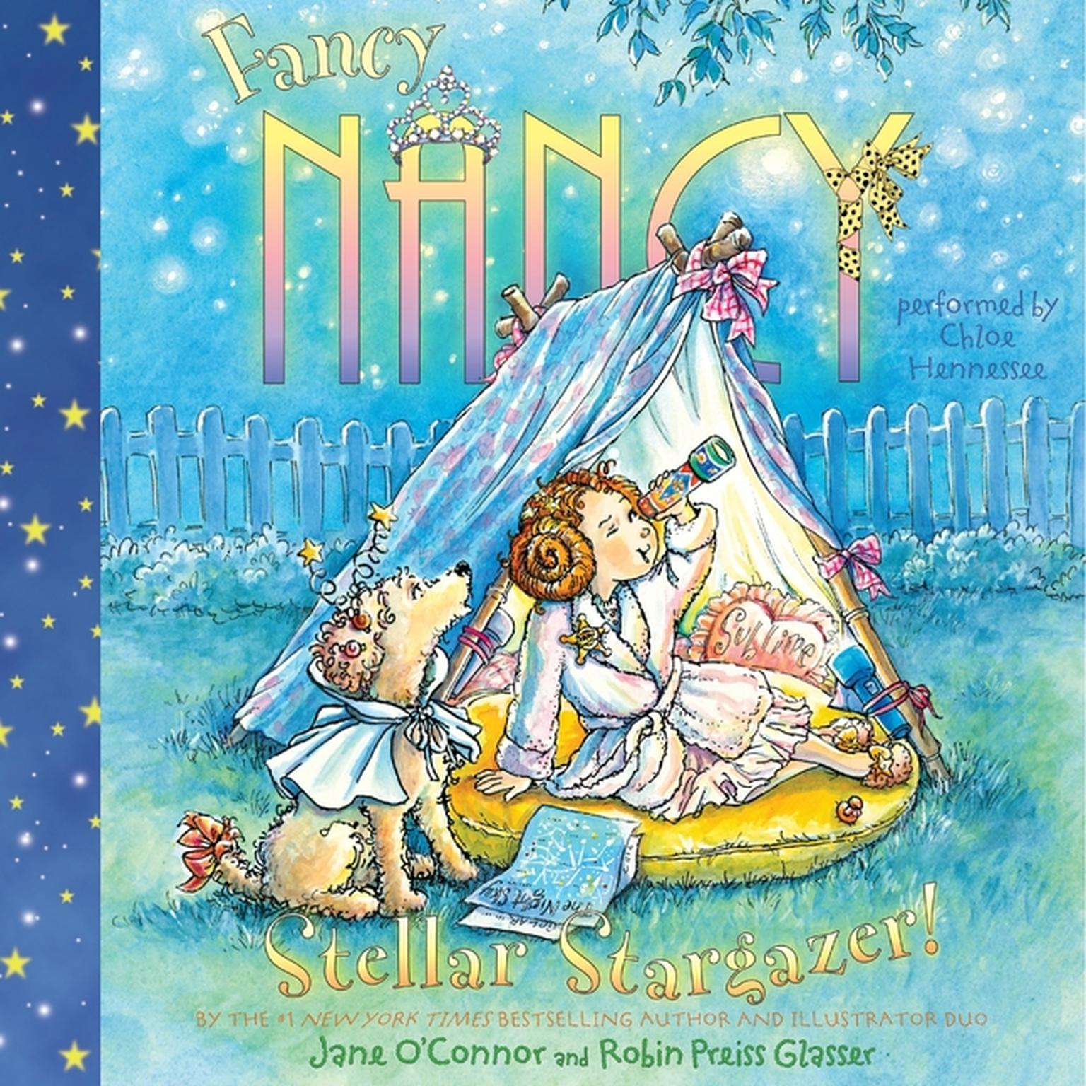Printable Fancy Nancy: Stellar Stargazer! Audiobook Cover Art