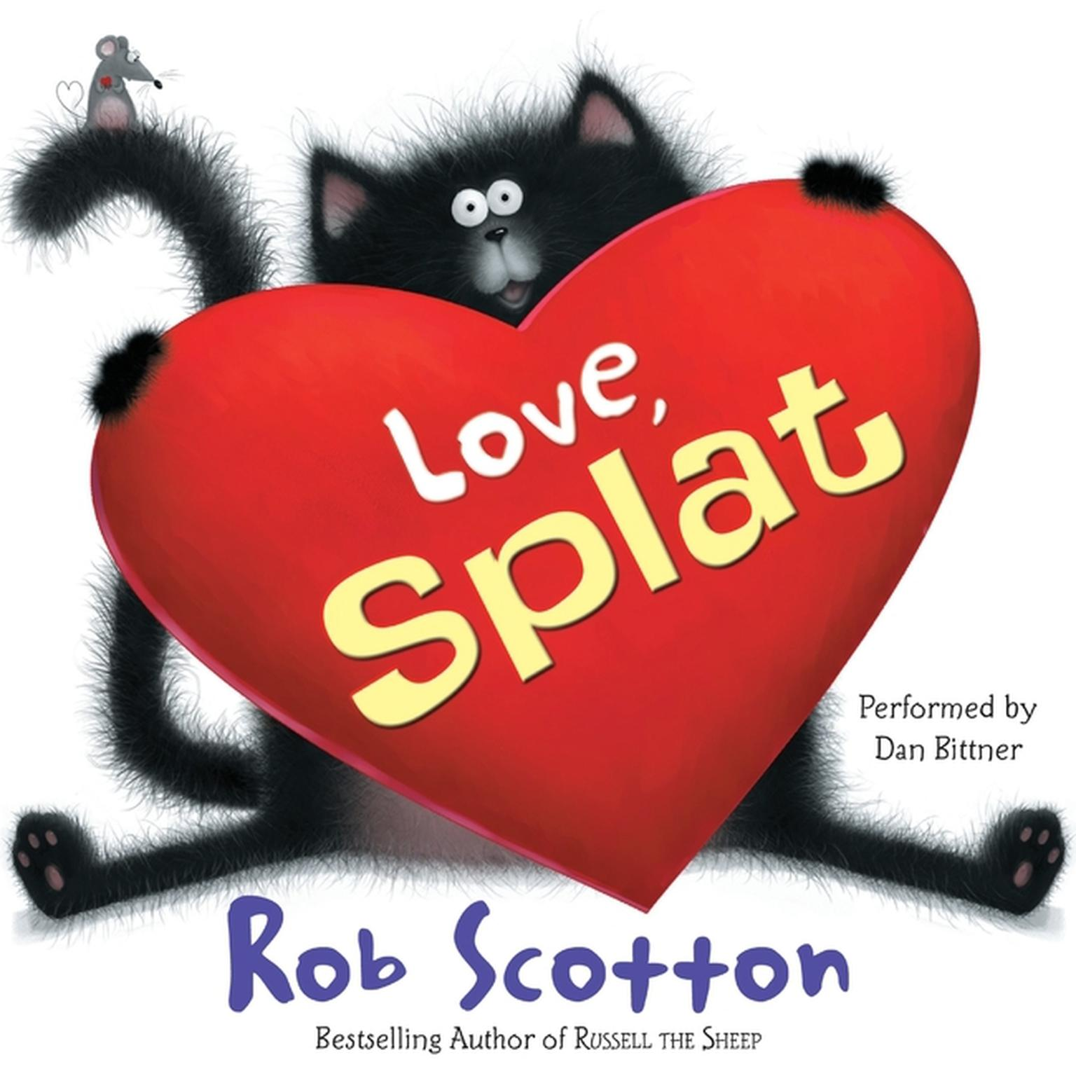 Printable Love, Splat Audiobook Cover Art