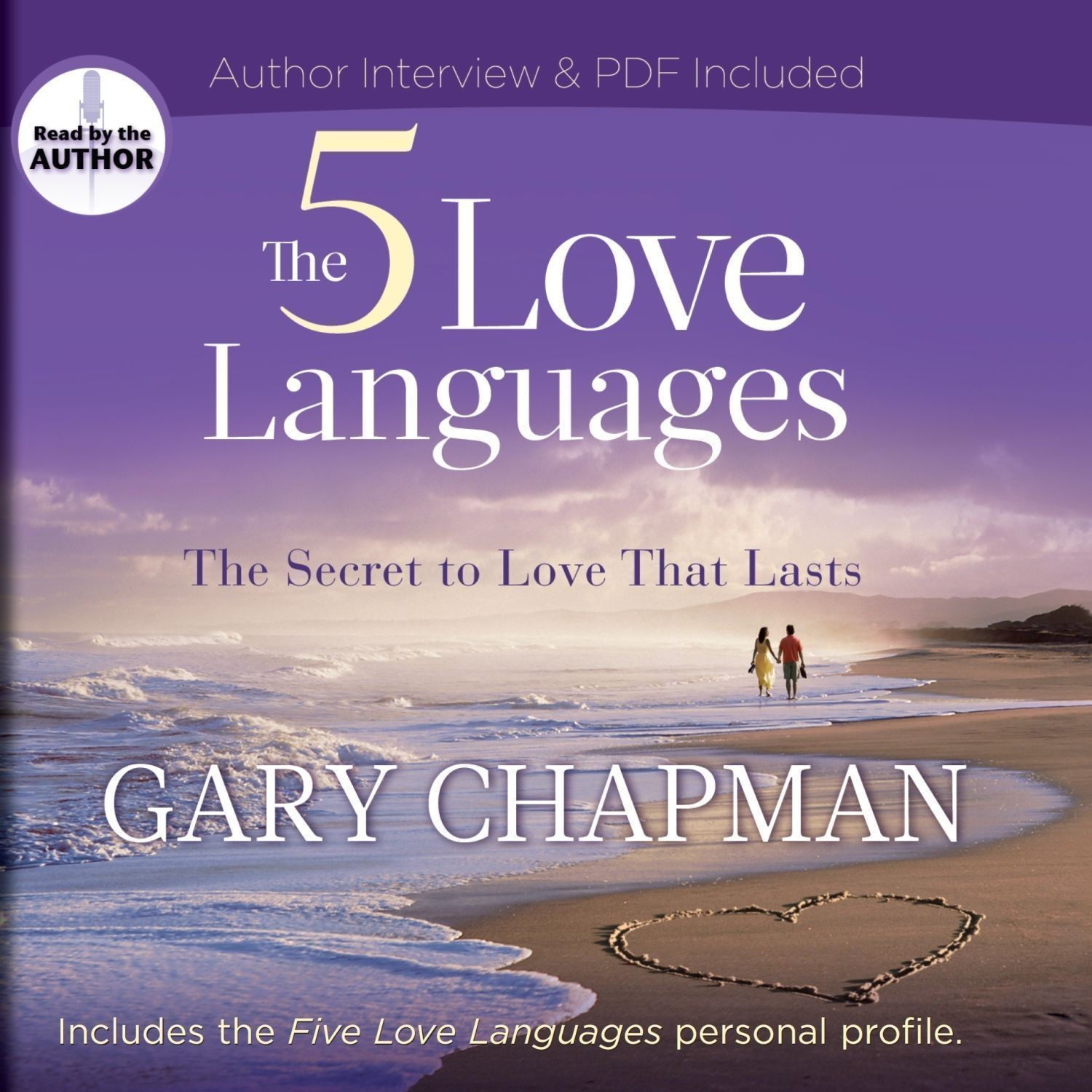 Printable The Five Love Languages: The Secret to Love That Lasts Audiobook Cover Art
