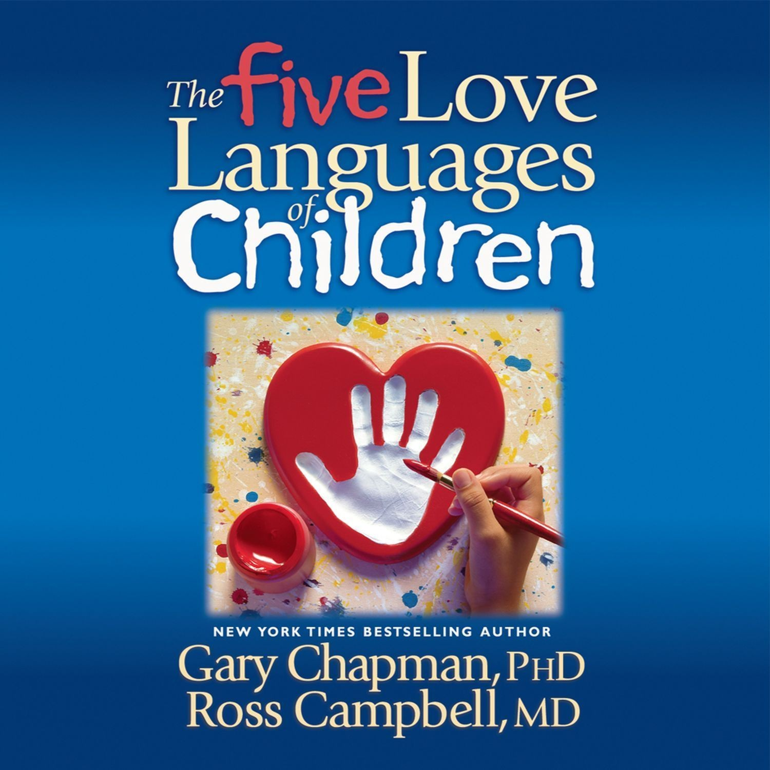 Printable The Five Love Languages of Children Audiobook Cover Art