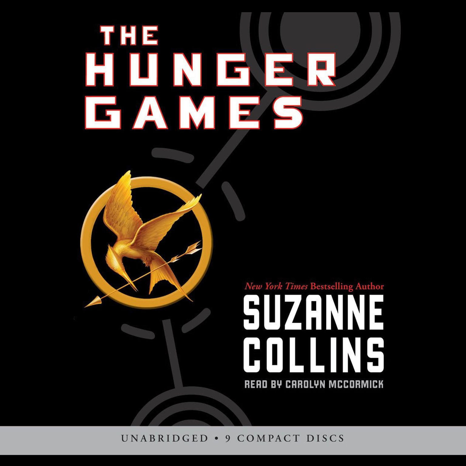 Printable The Hunger Games Audiobook Cover Art