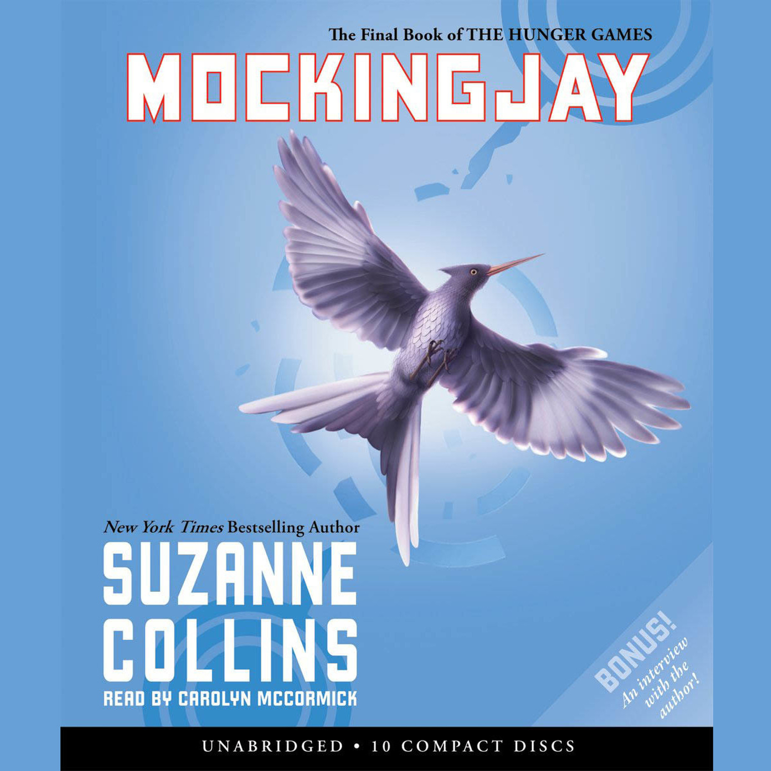 Printable Mockingjay Audiobook Cover Art