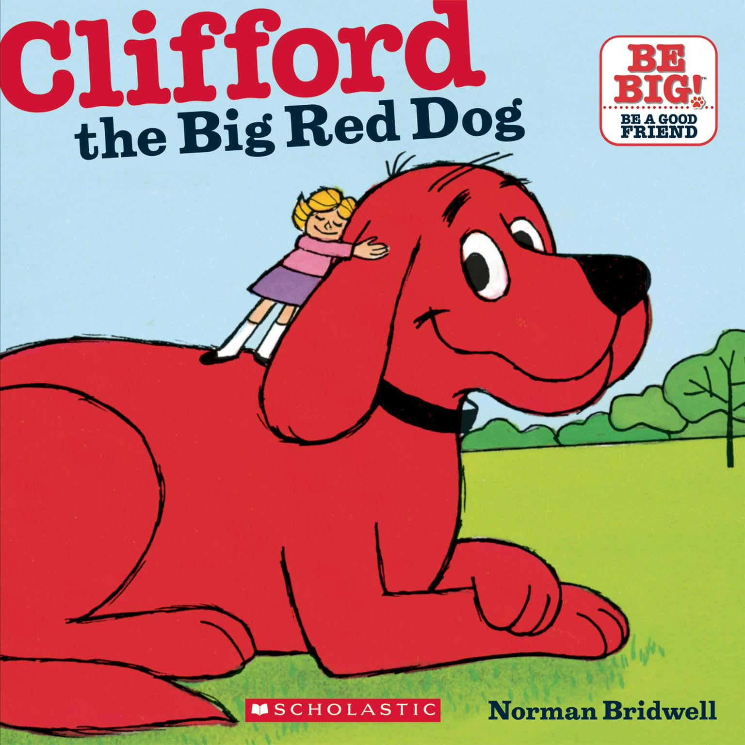 Printable Clifford the Big Red Dog Audiobook Cover Art