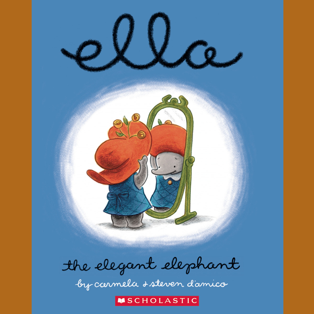 Printable Ella the Elegant Elephant Audiobook Cover Art