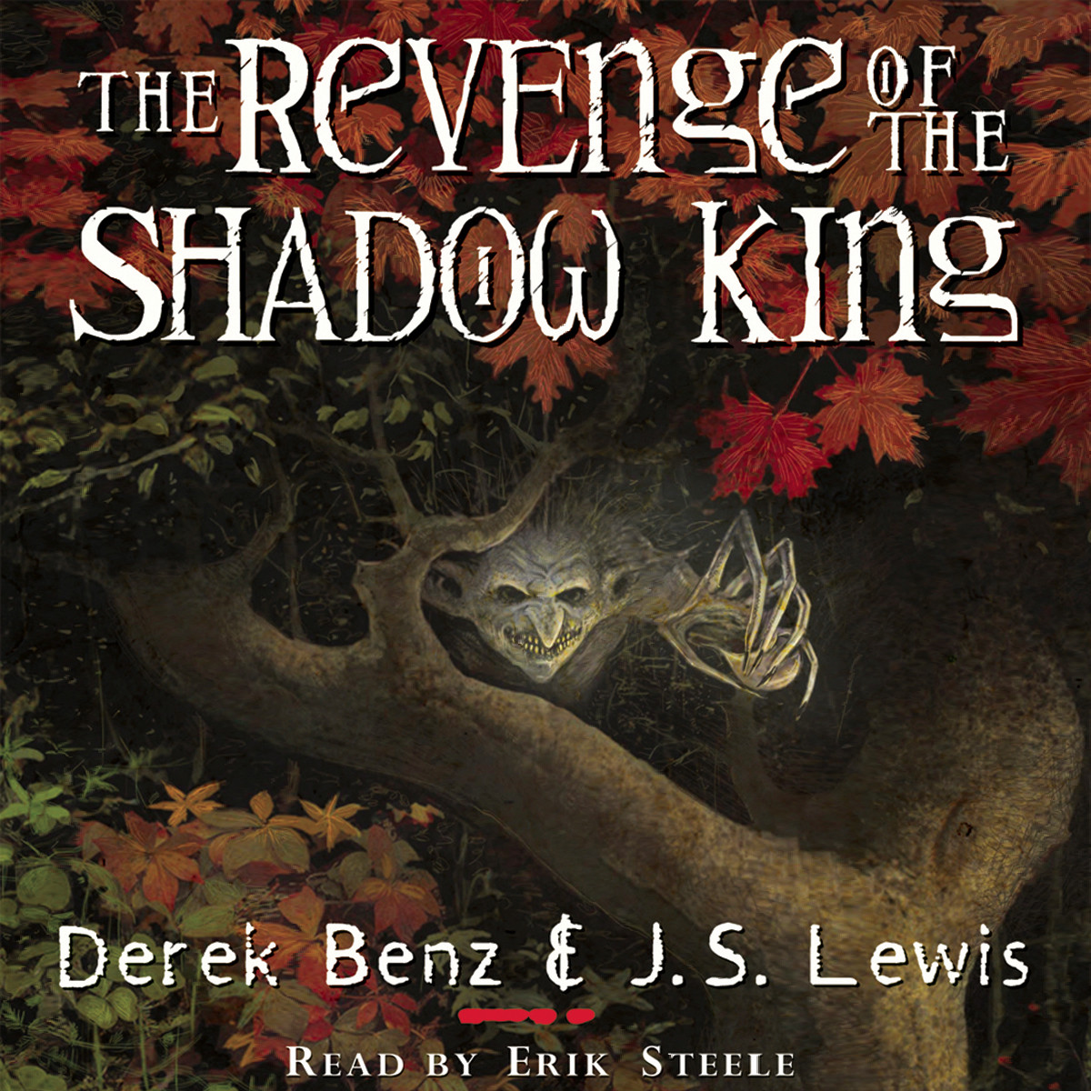 Printable The Revenge of the Shadow King Audiobook Cover Art