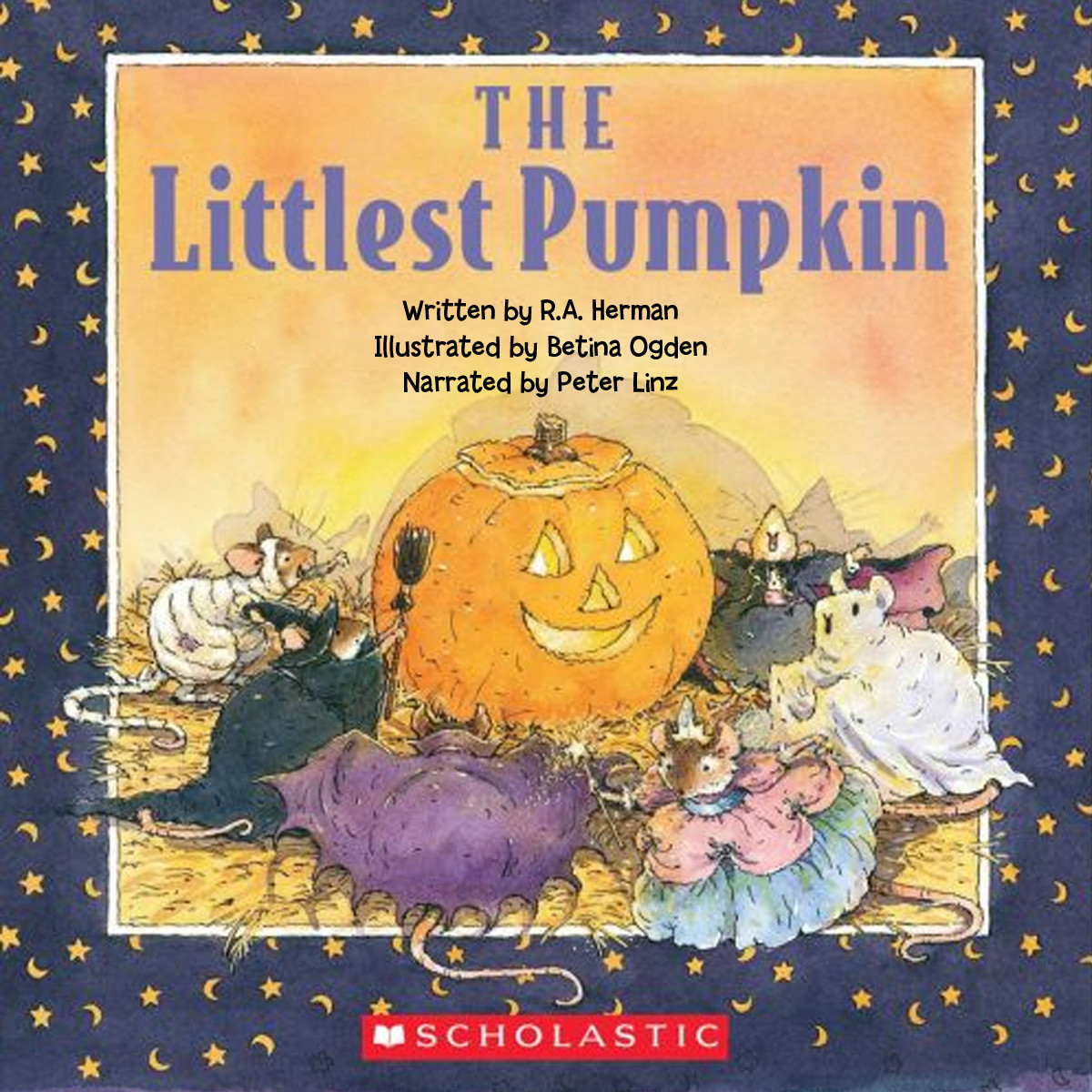 Printable The Littlest Pumpkin Audiobook Cover Art