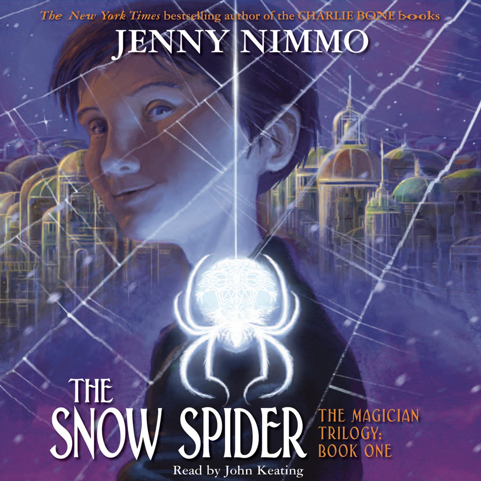 Printable The Snow Spider Audiobook Cover Art