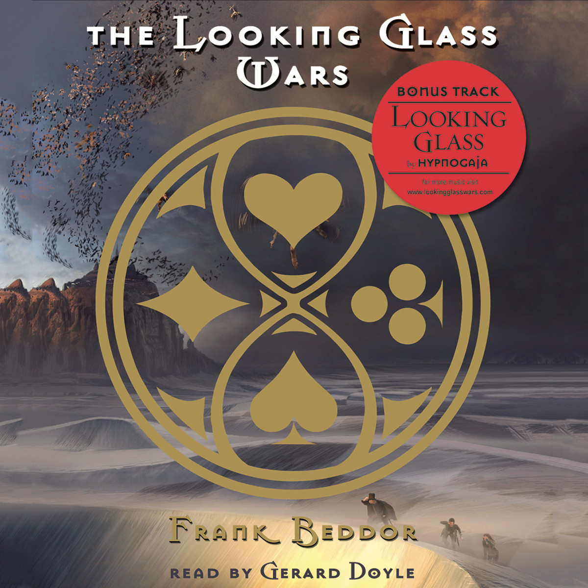 Printable The Looking Glass Wars Audiobook Cover Art