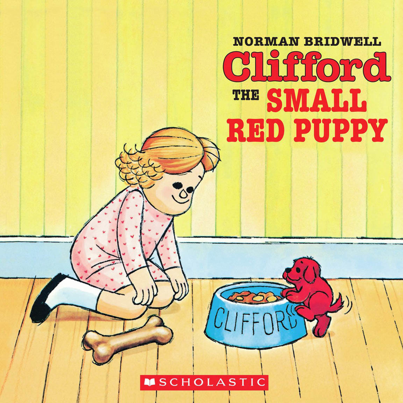 Printable Clifford the Small Red Puppy Audiobook Cover Art