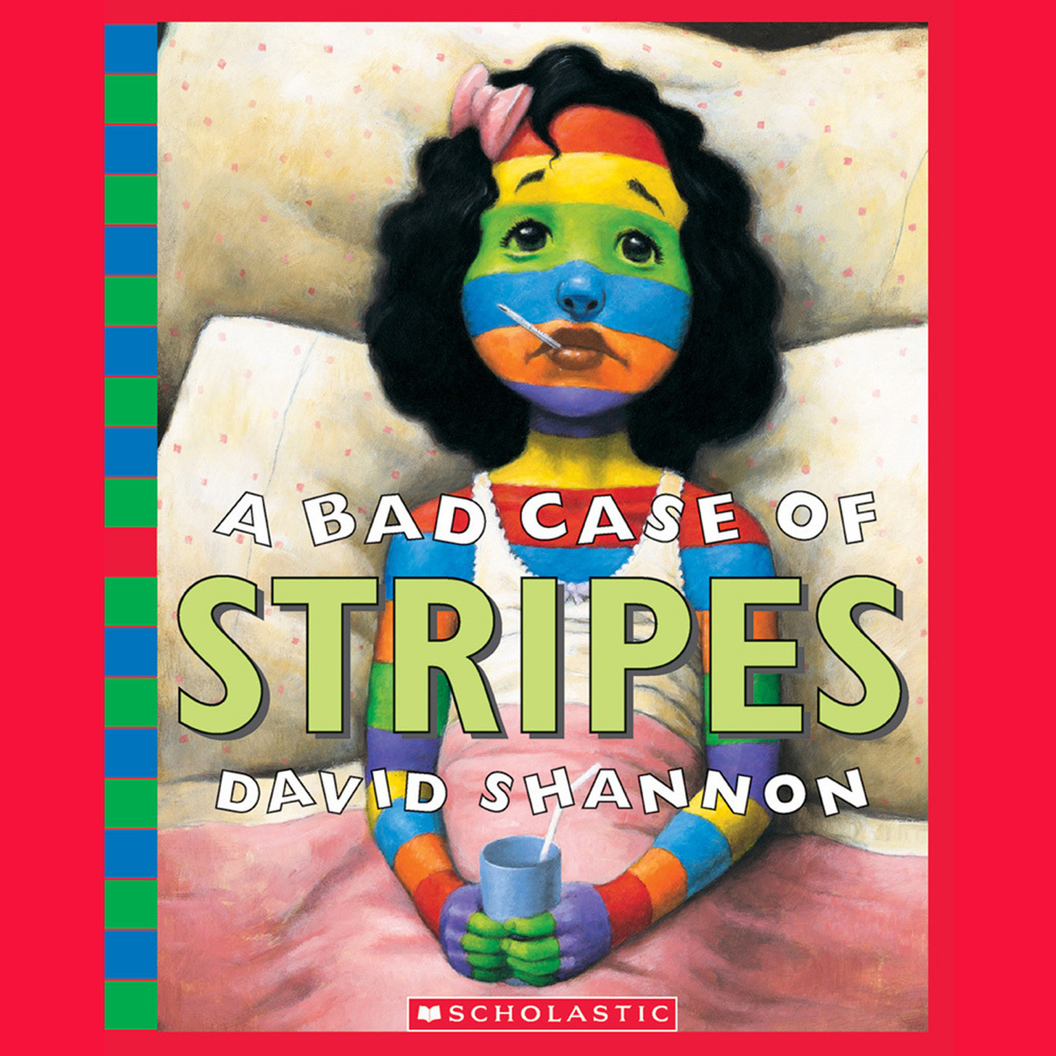 Printable A Bad Case of Stripes Audiobook Cover Art