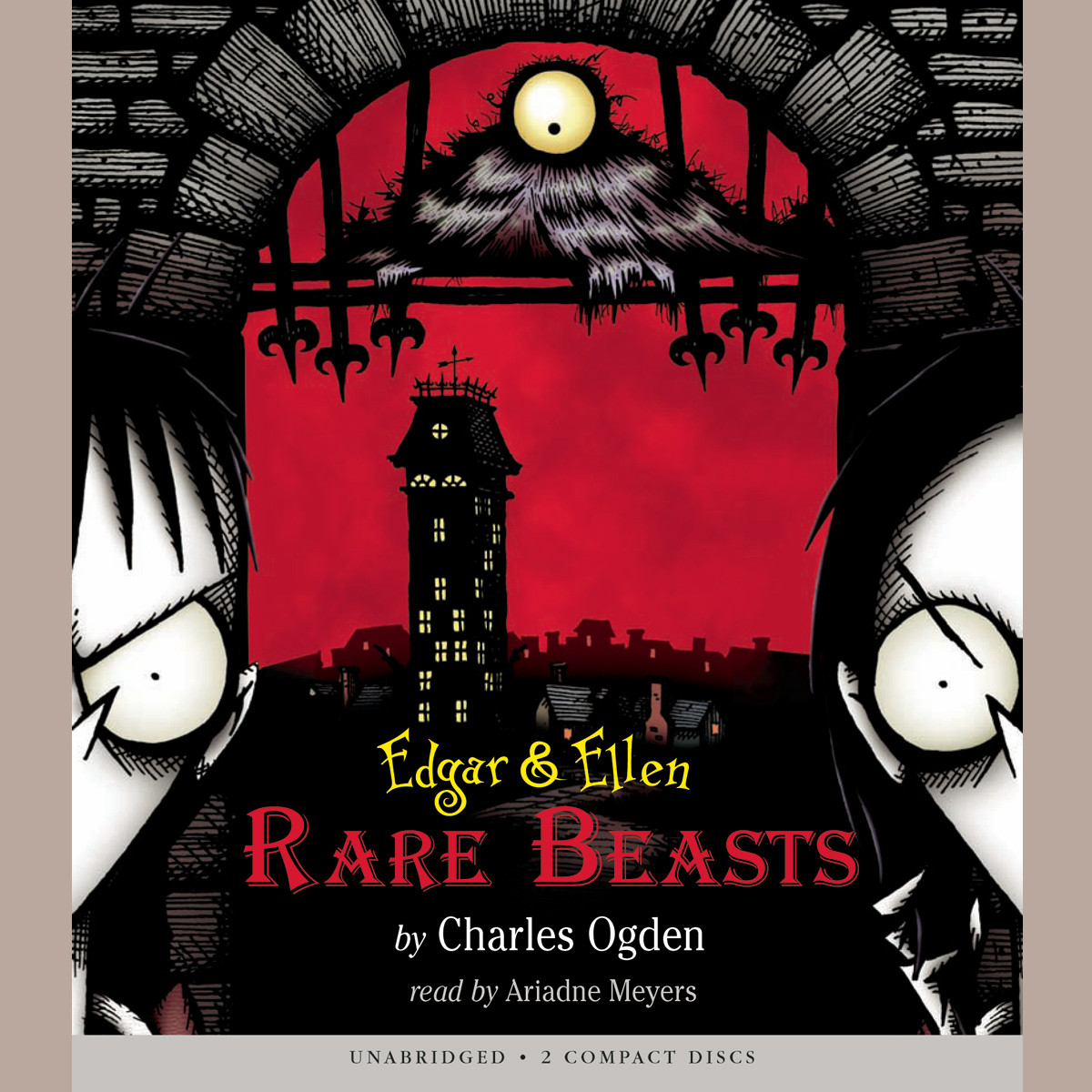 Printable Rare Beasts Audiobook Cover Art