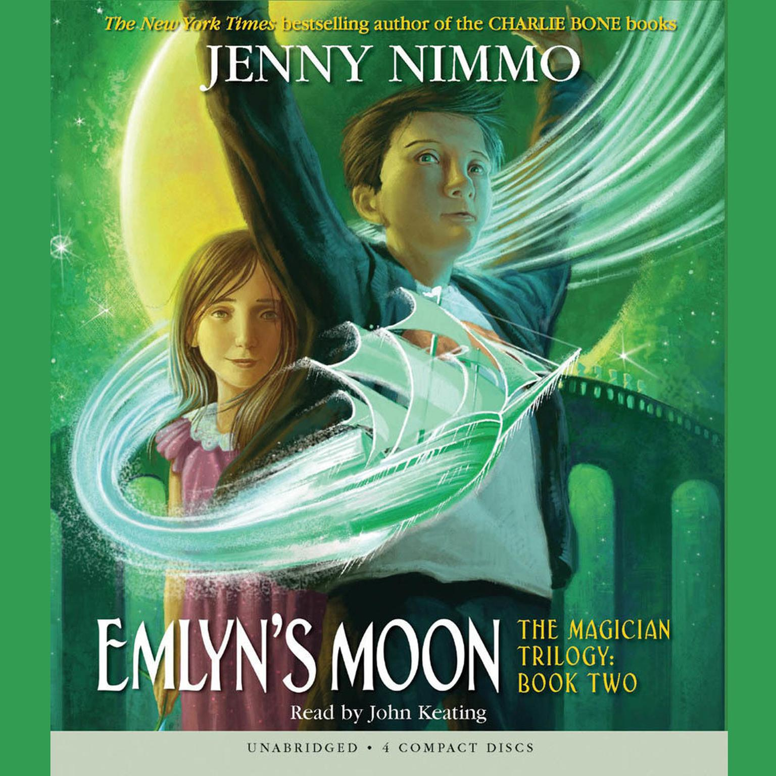 Printable Emlyn's Moon Audiobook Cover Art