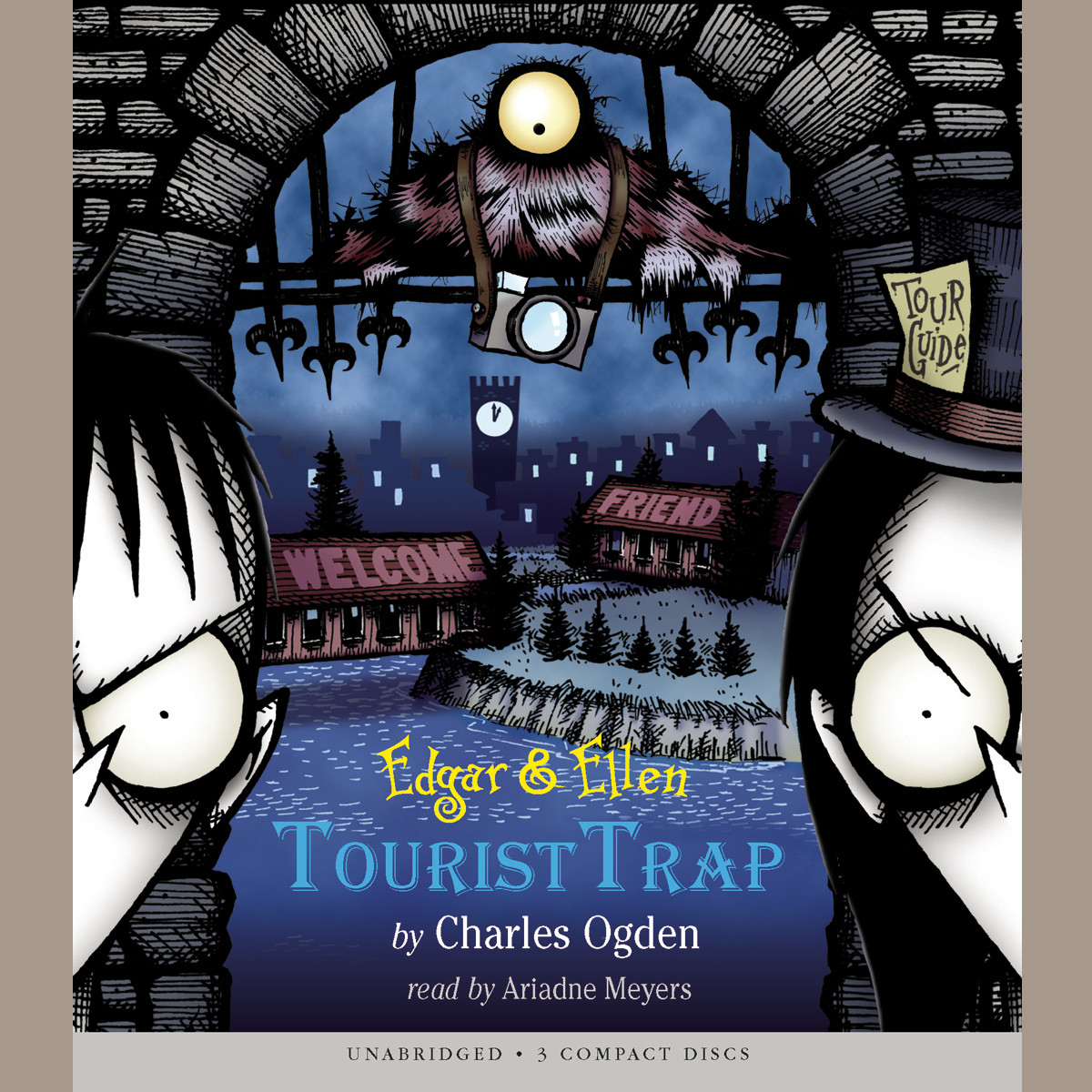 Printable Tourist Trap Audiobook Cover Art