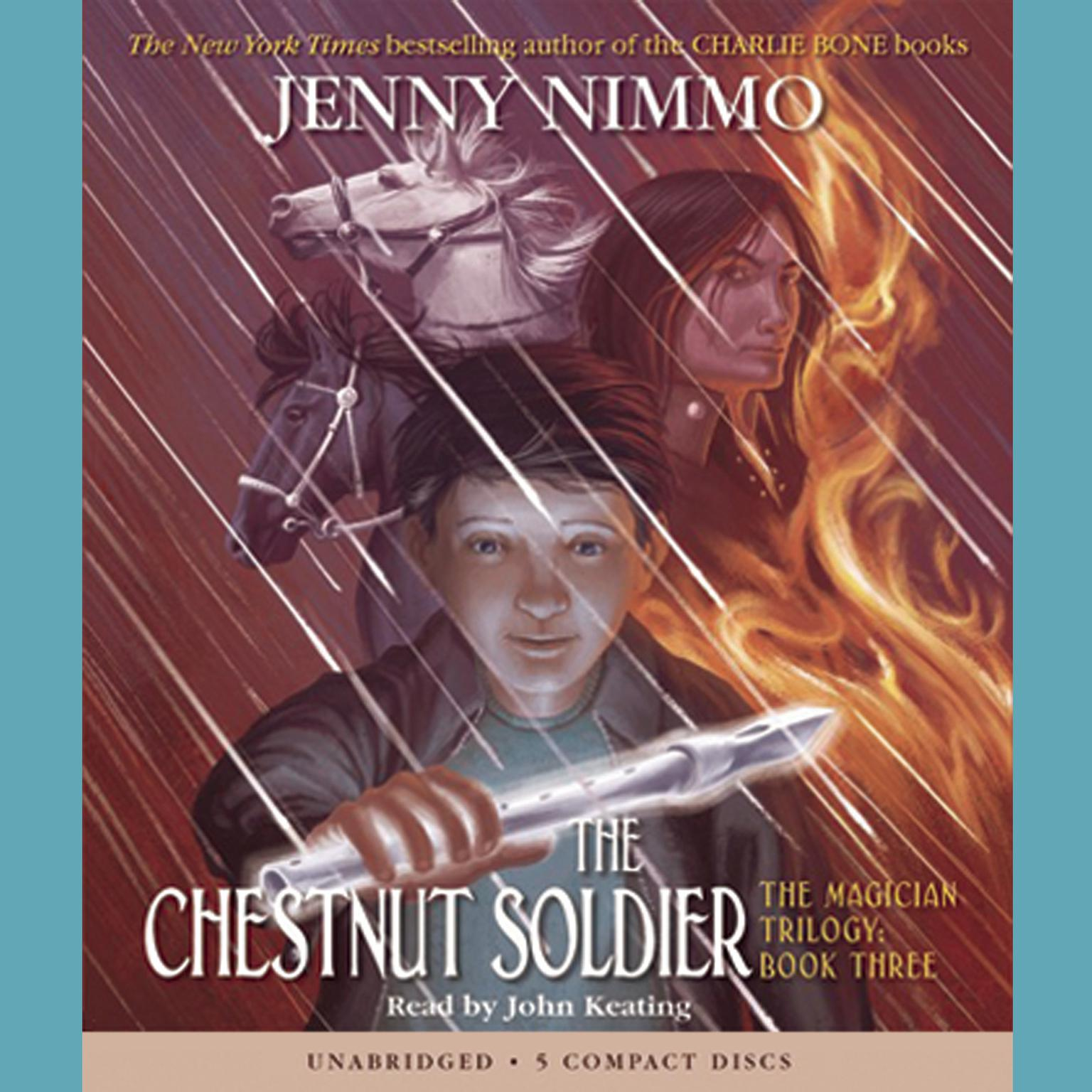 Printable The Chestnut Soldier Audiobook Cover Art