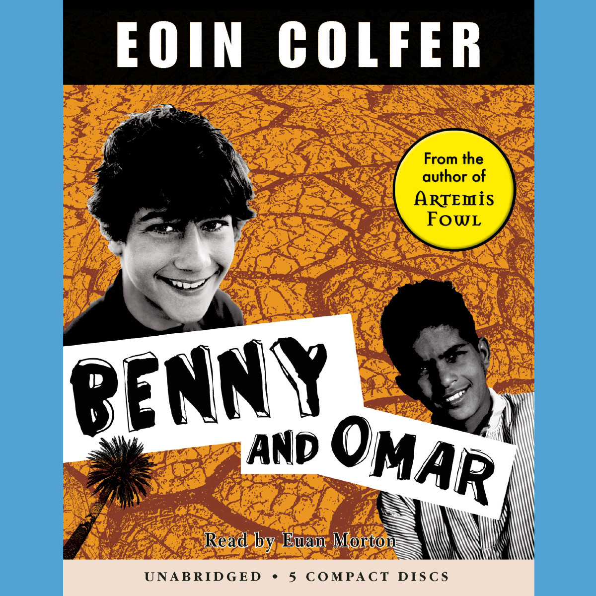 Printable Benny and Omar Audiobook Cover Art