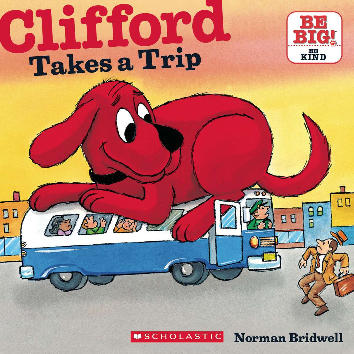 Printable Clifford Takes a Trip Audiobook Cover Art