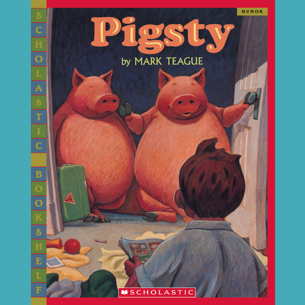 Printable Pigsty Audiobook Cover Art