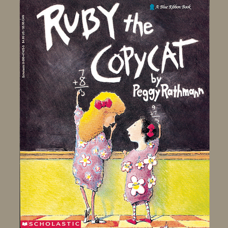 Printable Ruby the Copycat Audiobook Cover Art