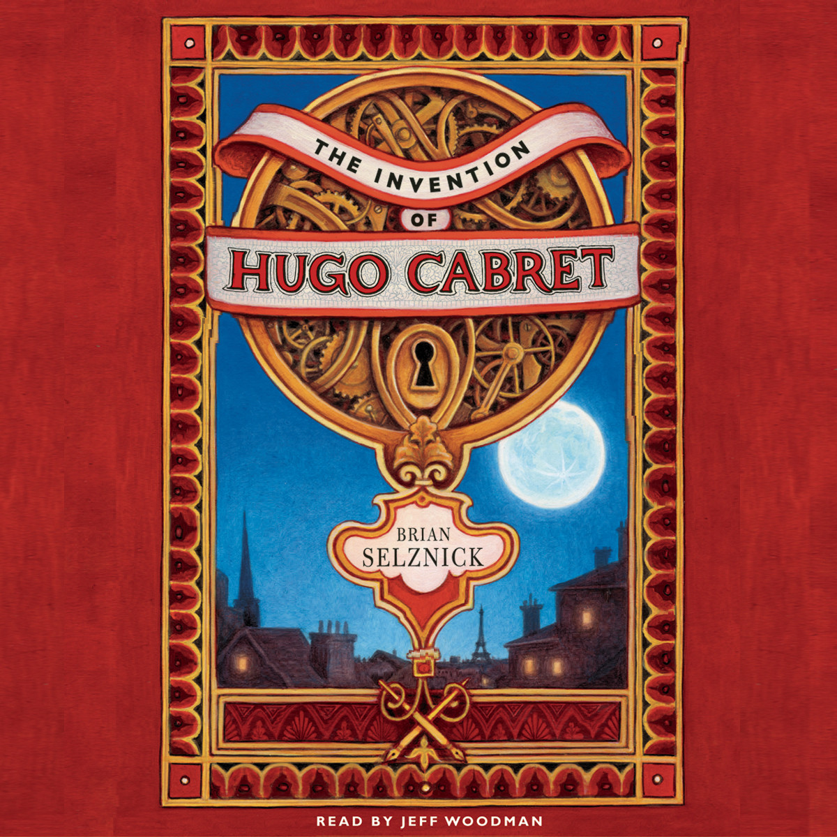 Printable The Invention of Hugo Cabret Audiobook Cover Art