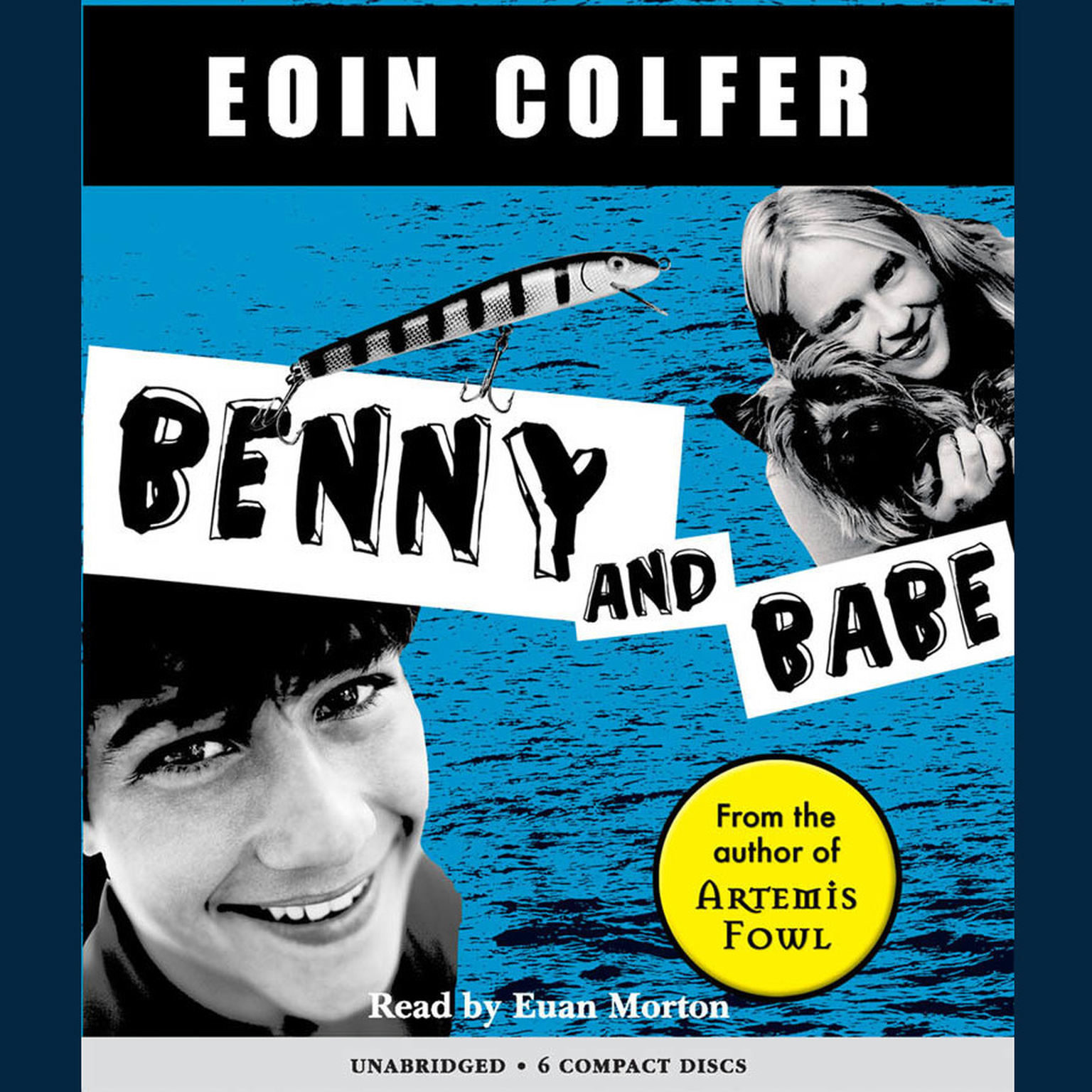 Printable Benny and Babe Audiobook Cover Art
