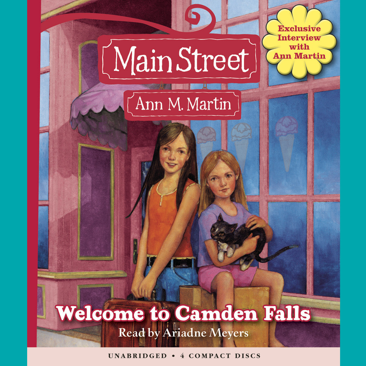 Printable Welcome to Camden Falls Audiobook Cover Art