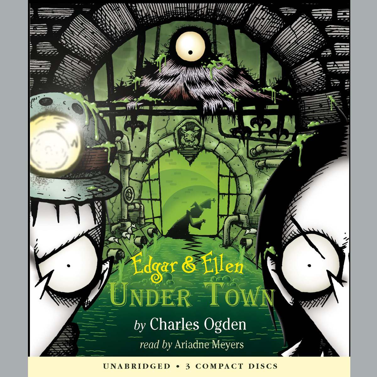 Printable Under Town Audiobook Cover Art