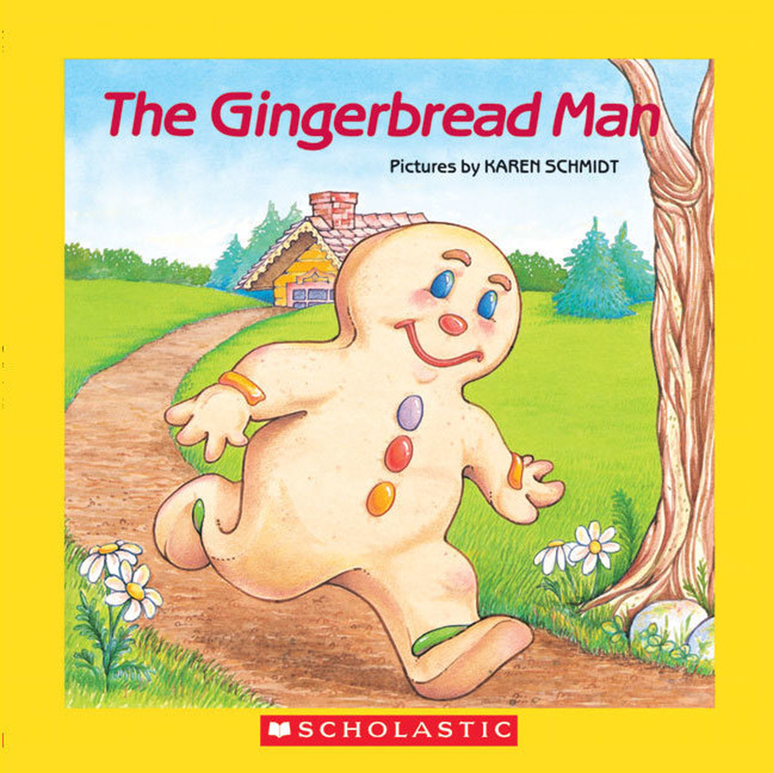 Printable The Gingerbread Man Audiobook Cover Art