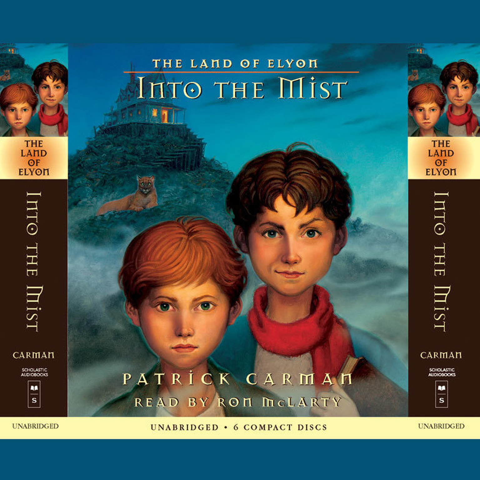 Printable Into the Mist Audiobook Cover Art