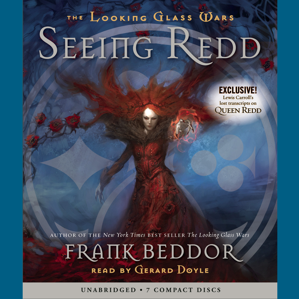 Printable Seeing Redd Audiobook Cover Art
