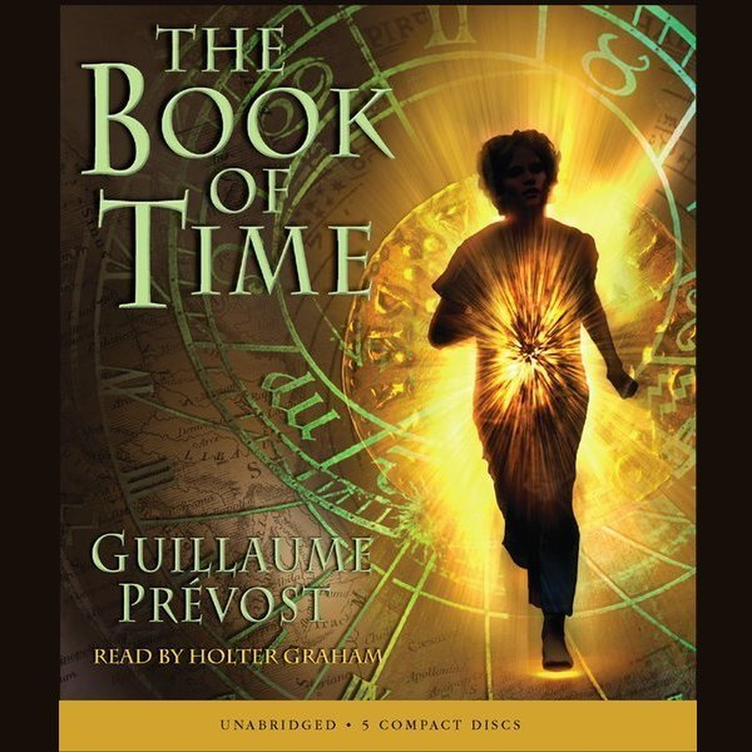 Printable The Book of Time Audiobook Cover Art