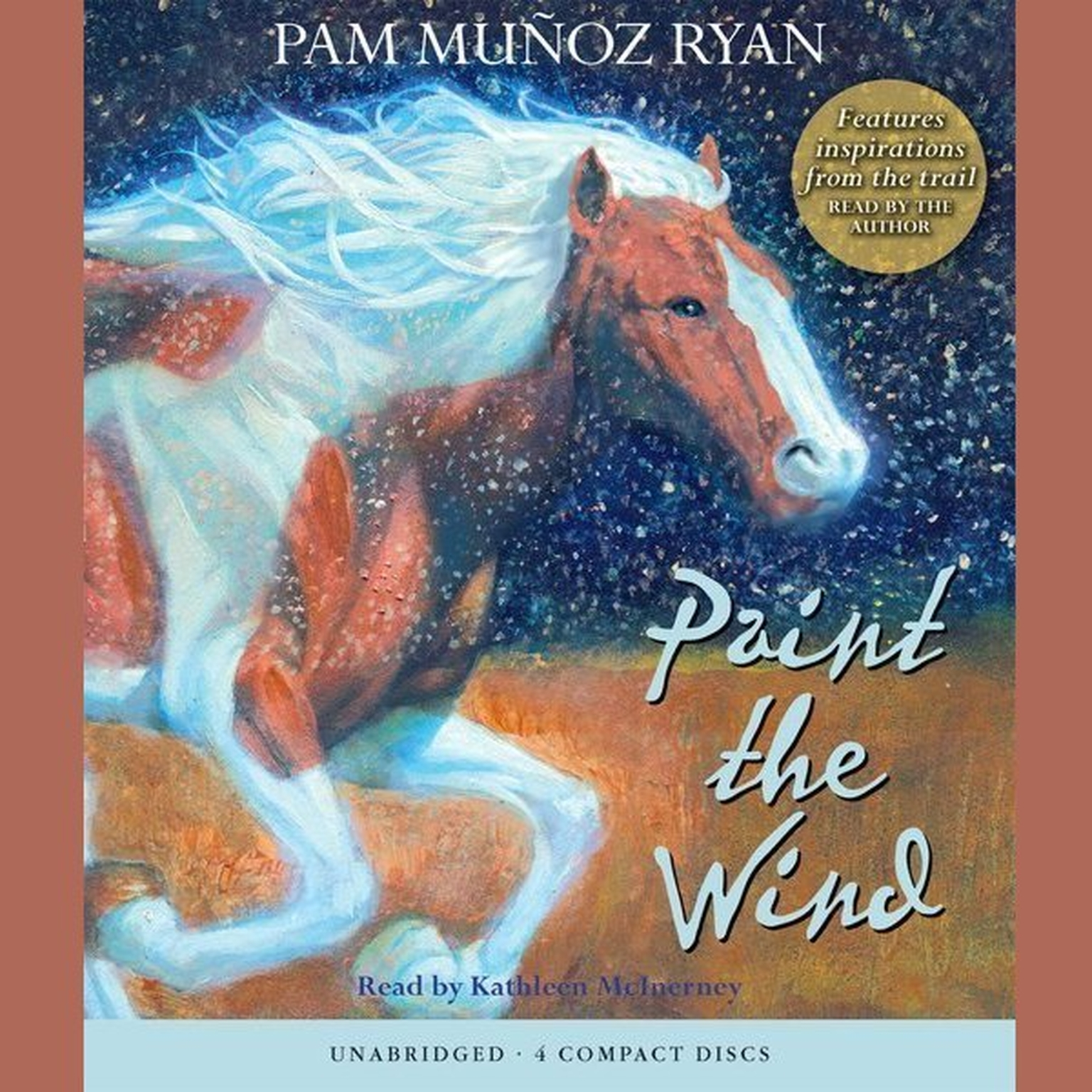 Printable Paint the Wind Audiobook Cover Art