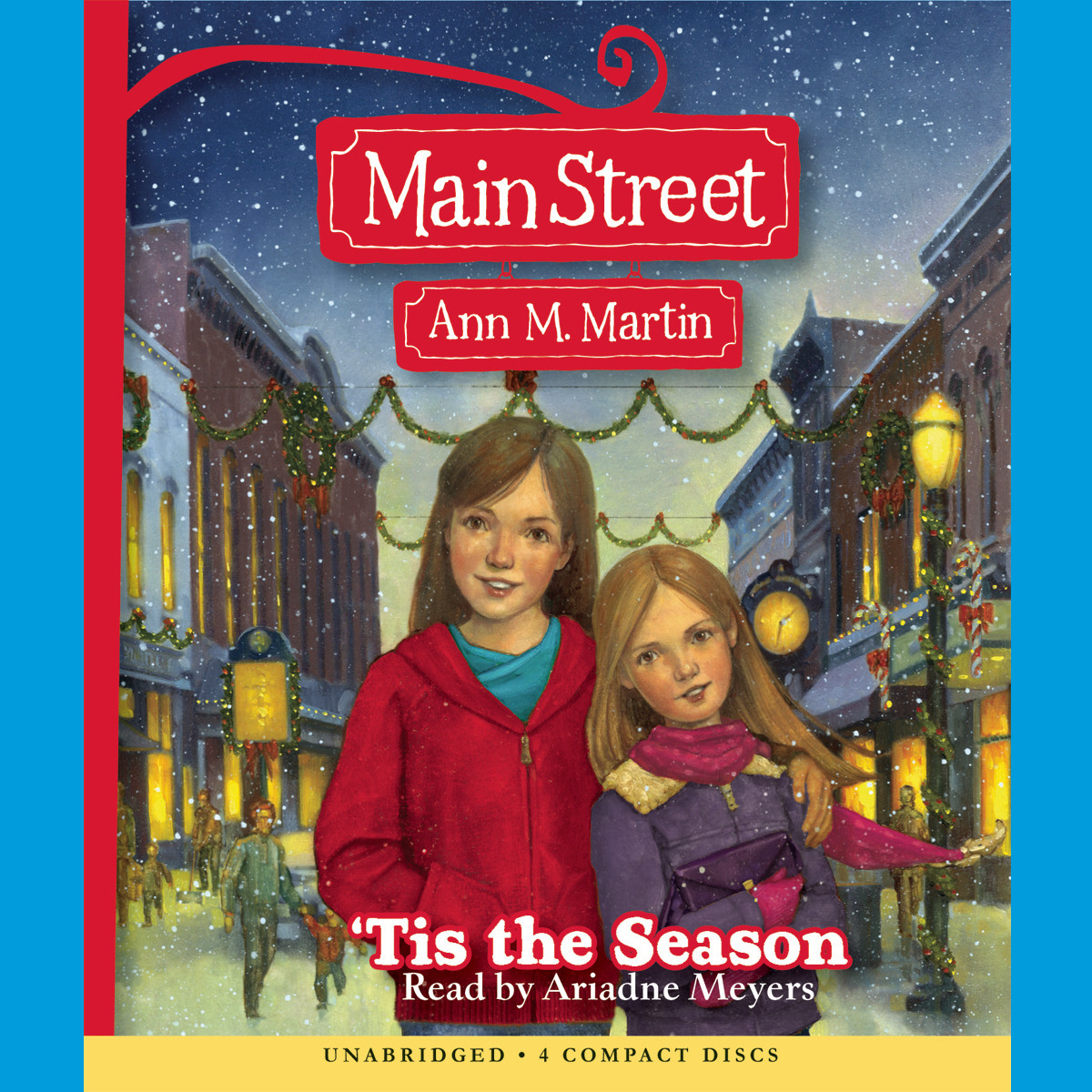 Printable 'Tis the Season Audiobook Cover Art