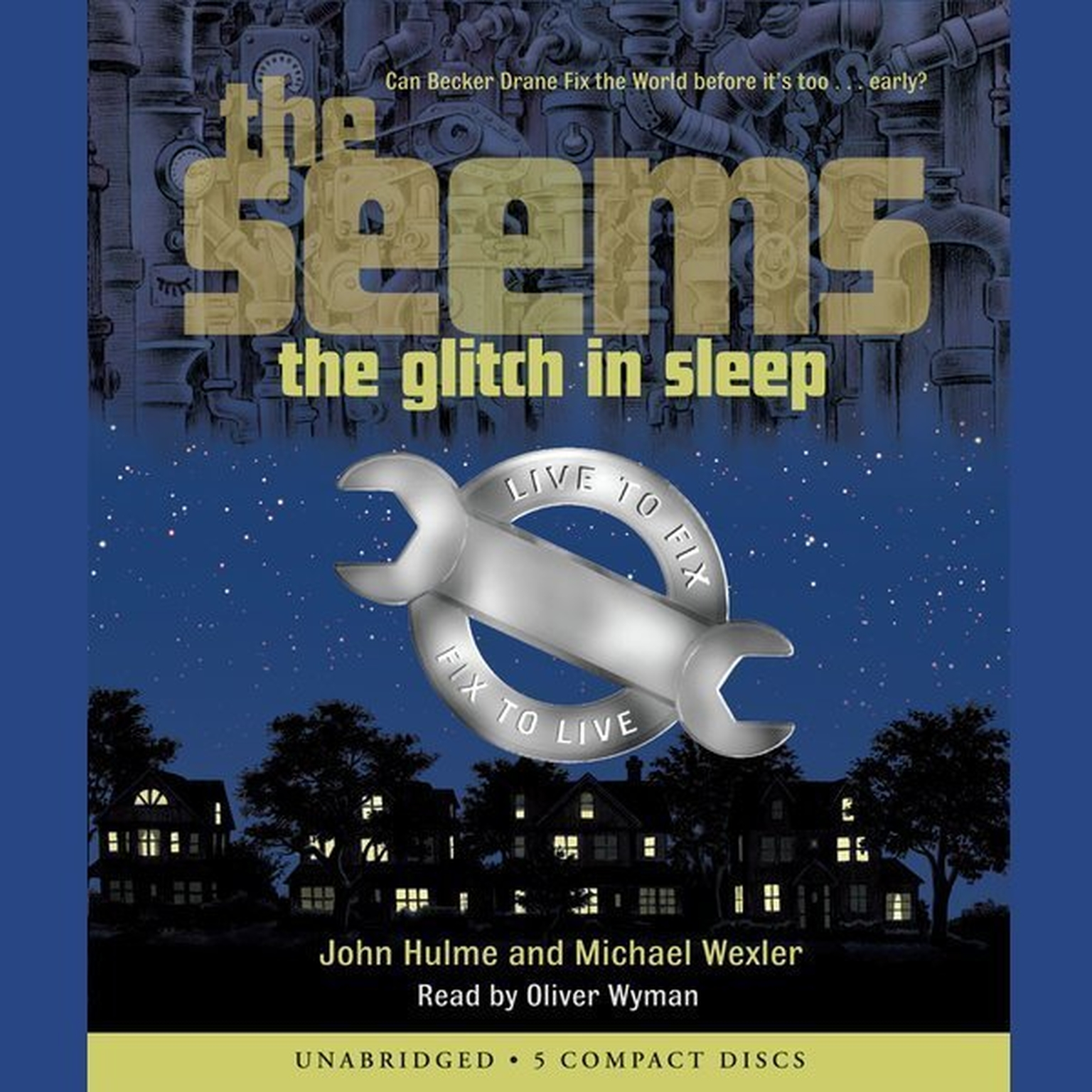 Printable The Glitch in Sleep Audiobook Cover Art
