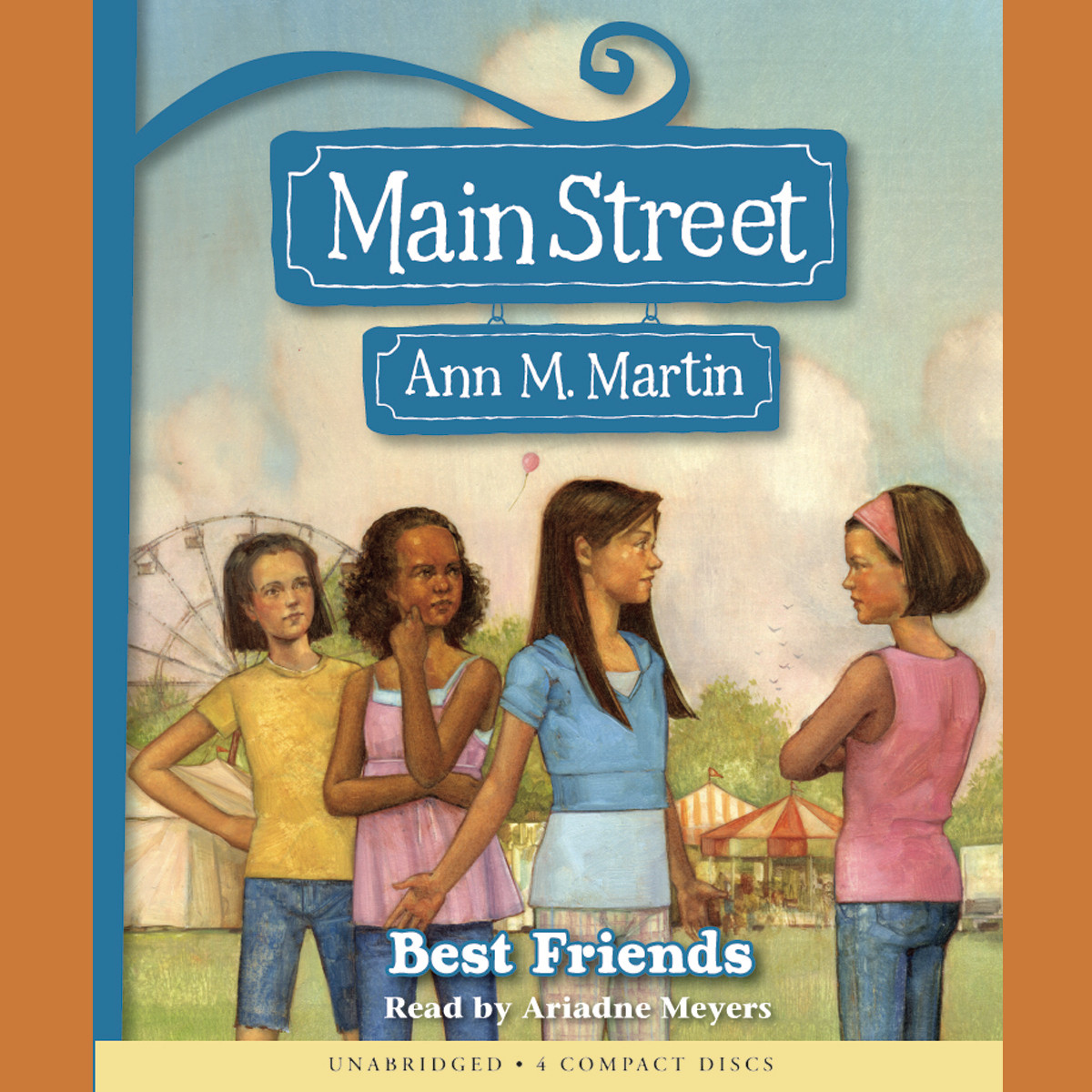 Printable Best Friends Audiobook Cover Art