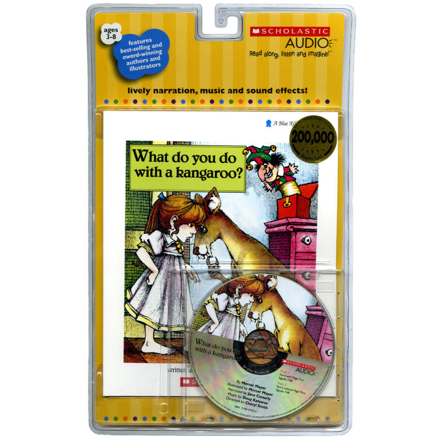 Printable What Do You Do with a Kangaroo? Audiobook Cover Art