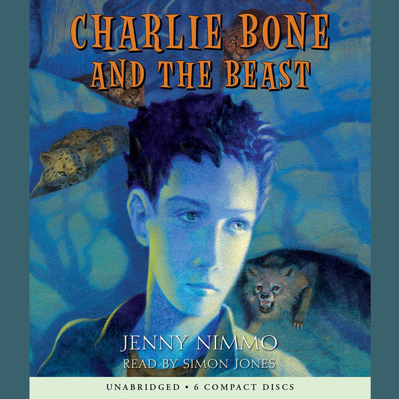 Printable Charlie Bone and the Beast Audiobook Cover Art
