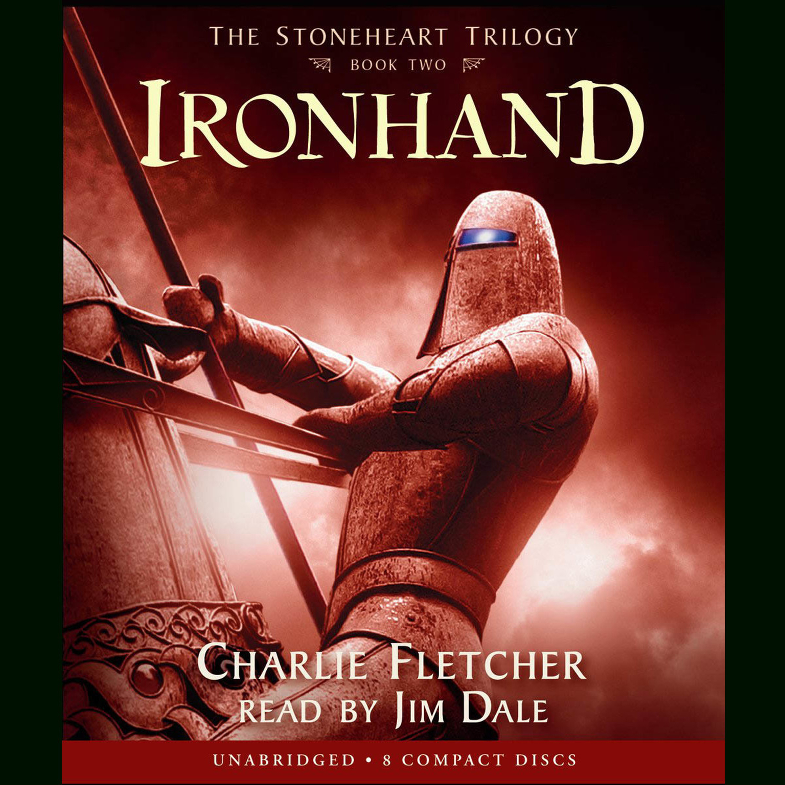 Printable Ironhand Audiobook Cover Art