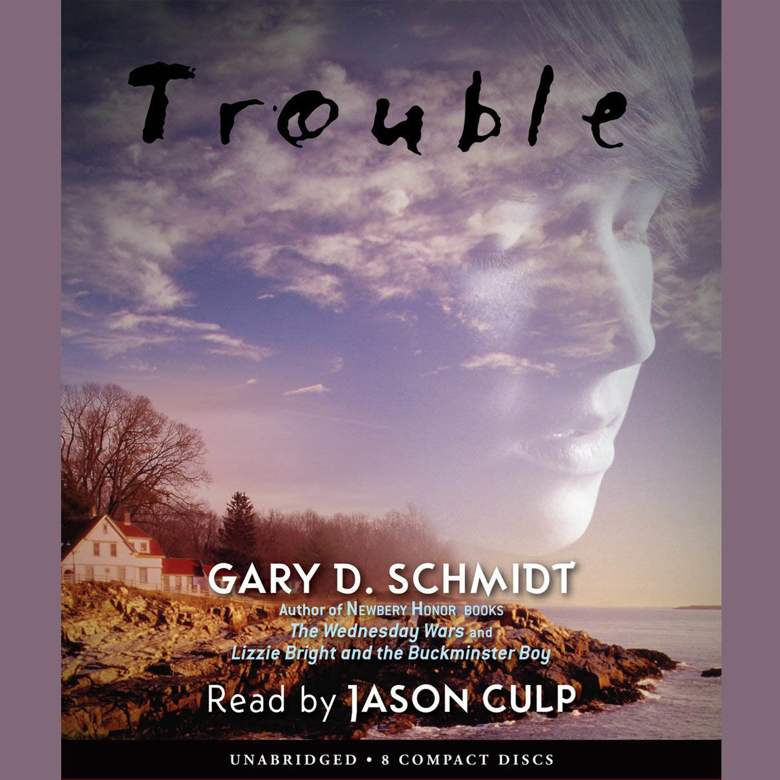 Printable Trouble Audiobook Cover Art