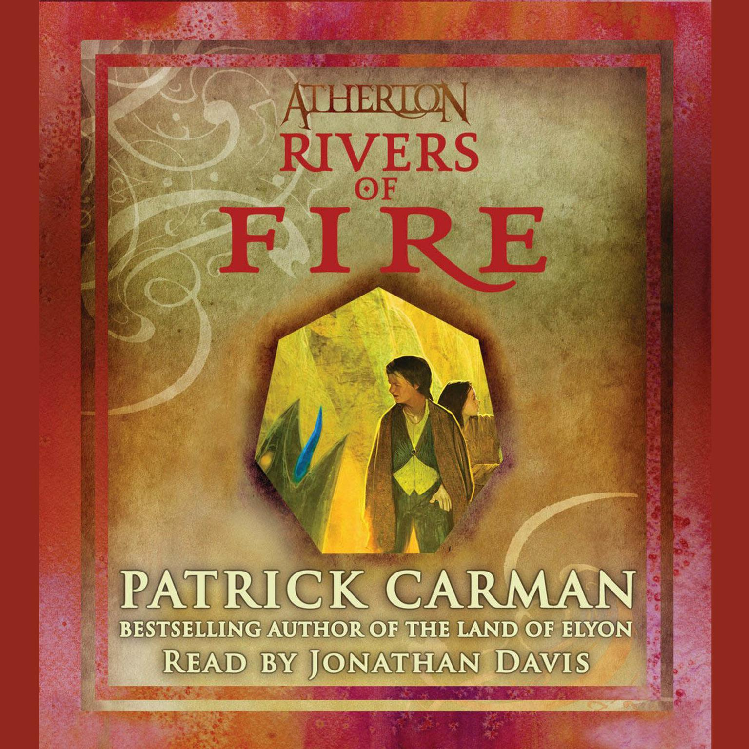 Printable Rivers of Fire Audiobook Cover Art